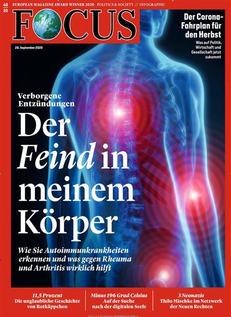 Cover Focus-Zeitschrift 40 2020