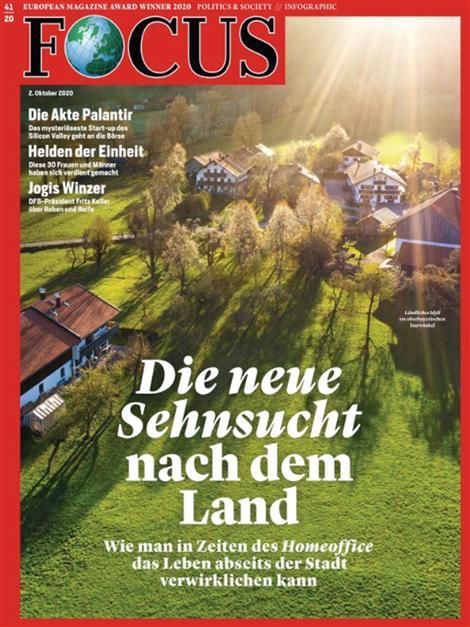 Cover Focus-Zeitschrift 41 2020