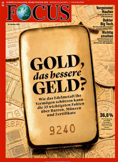 Cover Focus-Zeitschrift 42 2020