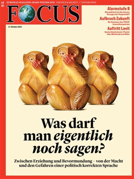 Cover Focus-Zeitschrift 43 2020