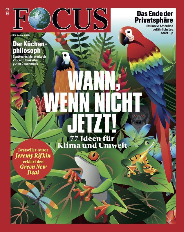 Cover Focus-Zeitschrift 5 2020