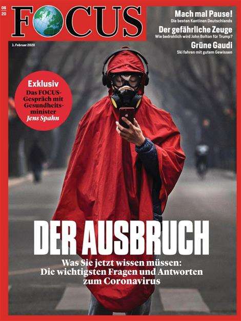 Cover Focus-Zeitschrift 6 2020