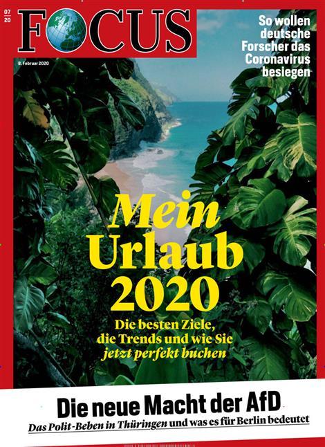 Cover Focus-Zeitschrift 7 2020