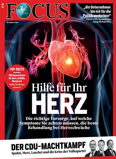 Cover Focus-Zeitschrift 8 2020