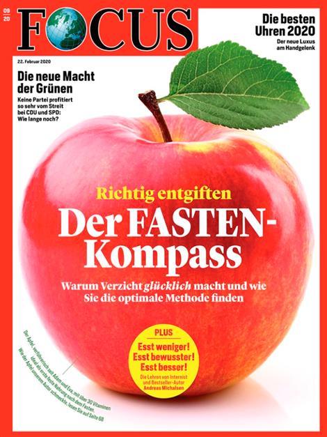 Cover Focus-Zeitschrift 9 2020