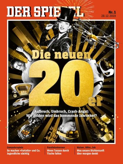 Cover Spiegel-Zeitschrift 1 2020