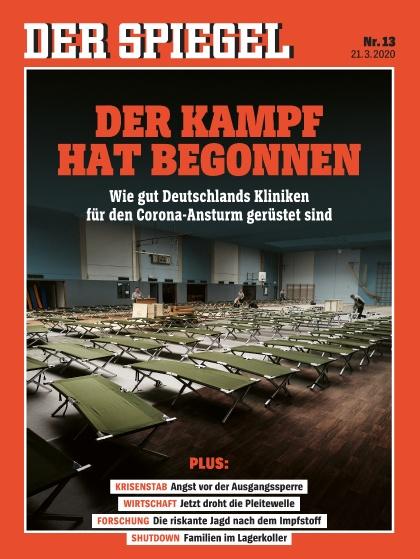 Cover Spiegel-Zeitschrift 13 2020