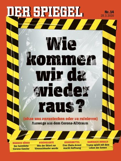 Cover Spiegel-Zeitschrift 14 2020