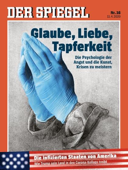 Cover Spiegel-Zeitschrift 16 2020
