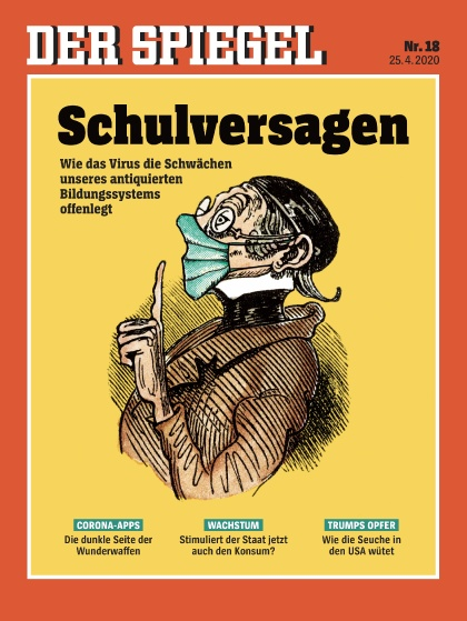 Cover Spiegel-Zeitschrift 18 2020