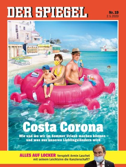Cover Spiegel-Zeitschrift 19 2020