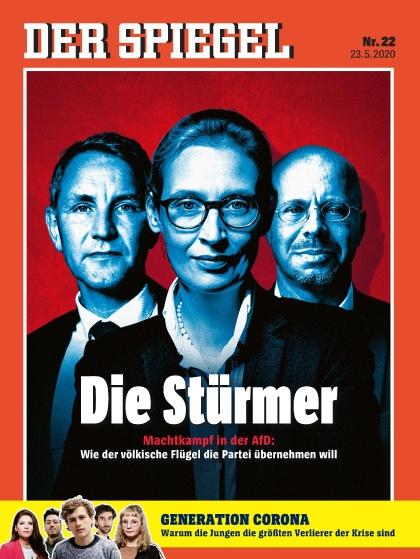 Cover Spiegel-Zeitschrift 22 2020