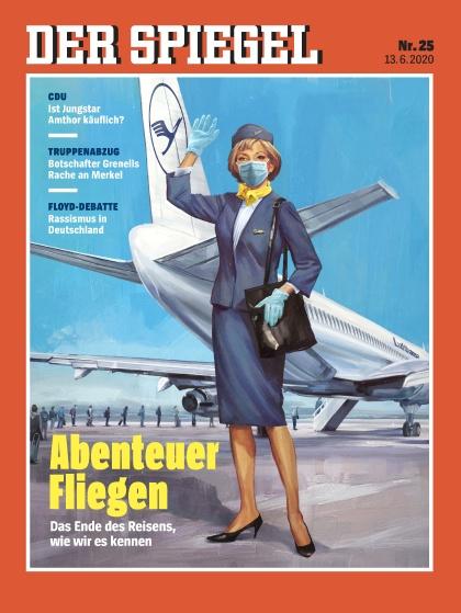 Cover Spiegel-Zeitschrift 25 2020
