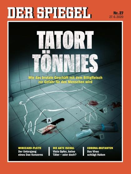 Cover Spiegel-Zeitschrift 27 2020