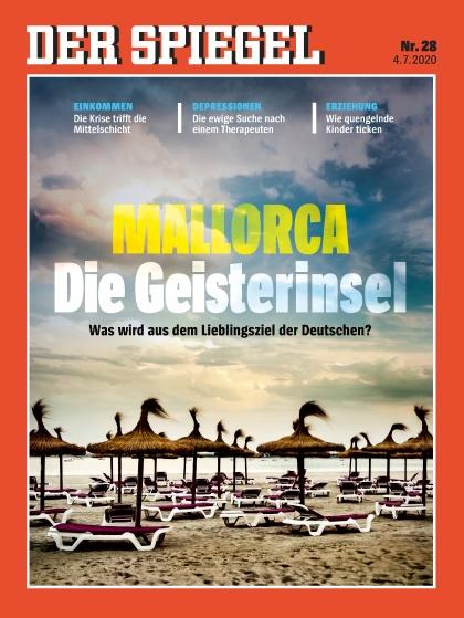 Cover Spiegel-Zeitschrift 28 2020