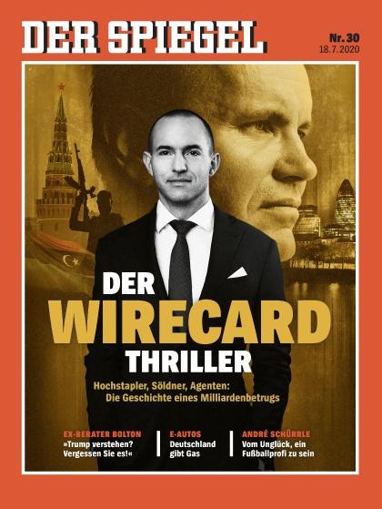 Cover Spiegel-Zeitschrift 30 2020