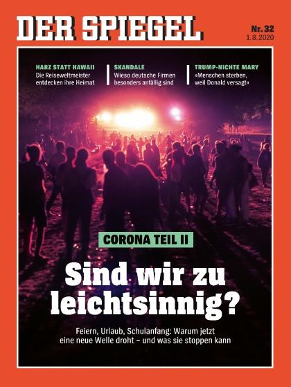 Cover Spiegel-Zeitschrift 32 2020