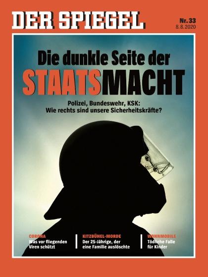 Cover Spiegel-Zeitschrift 33 2020