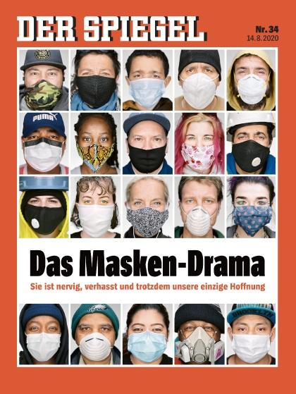 Cover Spiegel-Zeitschrift 34 2020