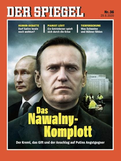Cover Spiegel-Zeitschrift 36 2020