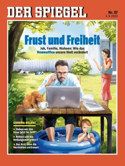 Cover Spiegel-Zeitschrift 37 2020