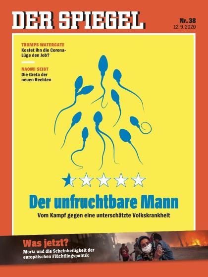 Cover Spiegel-Zeitschrift 38 2020