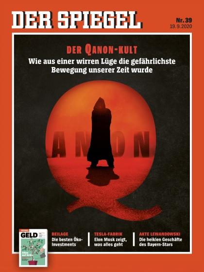 Cover Spiegel-Zeitschrift 39 2020