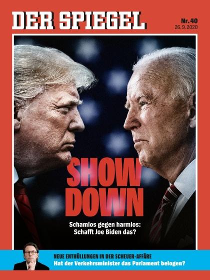 Cover Spiegel-Zeitschrift 40 2020