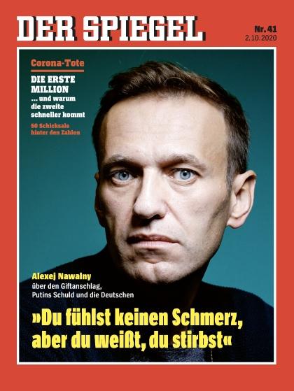 Cover Spiegel-Zeitschrift 41 2020