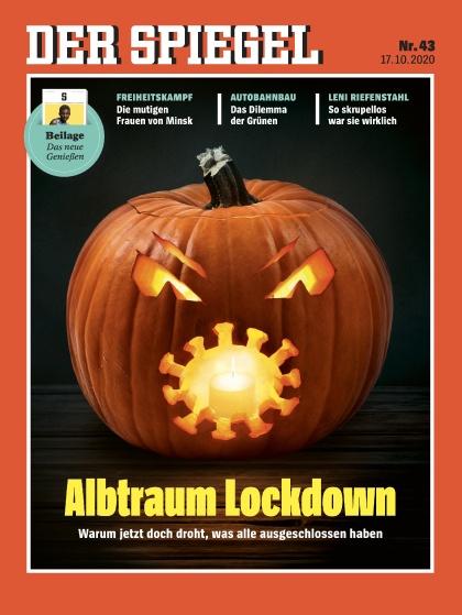 Cover Spiegel-Zeitschrift 43 2020