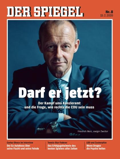 Cover Spiegel-Zeitschrift 8 2020