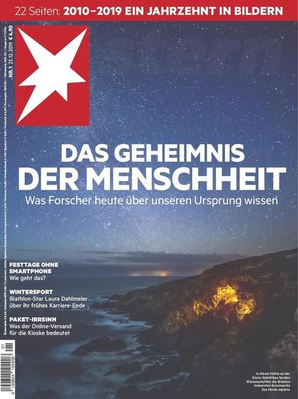 Cover Stern-Zeitschrift 1 2020