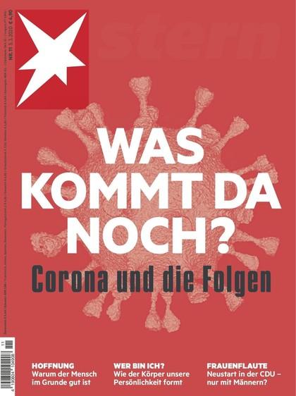 Cover Stern-Zeitschrift 11 2020