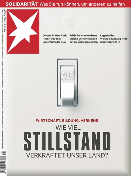 Cover Stern-Zeitschrift 15 2020