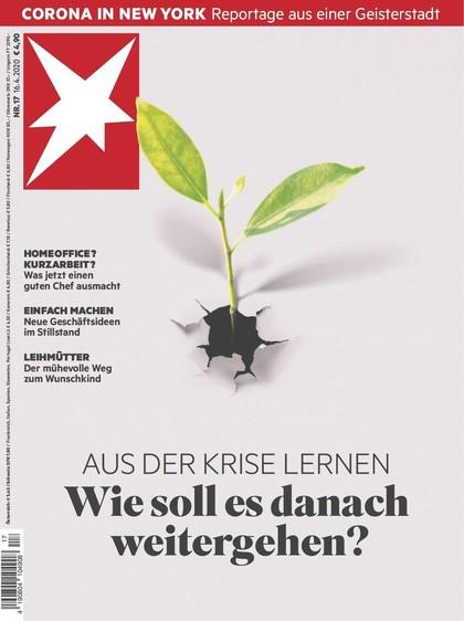 Cover Stern-Zeitschrift 17 2020