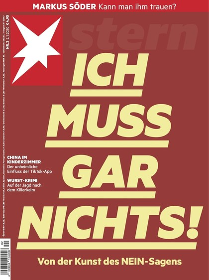 Cover Stern-Zeitschrift 2 2020