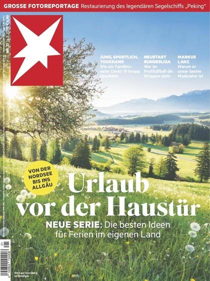 Cover Stern-Zeitschrift 21 2020