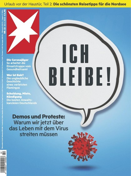 Cover Stern-Zeitschrift 22 2020