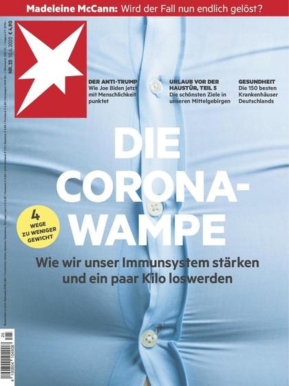 Cover Stern-Zeitschrift 25 2020