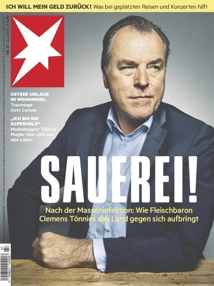 Cover Stern-Zeitschrift 27 2020