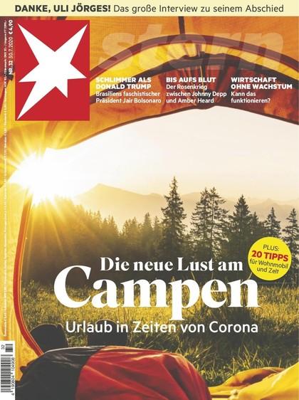 Cover Stern-Zeitschrift 32 2020