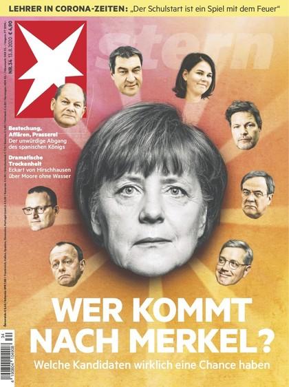 Cover Stern-Zeitschrift 34 2020