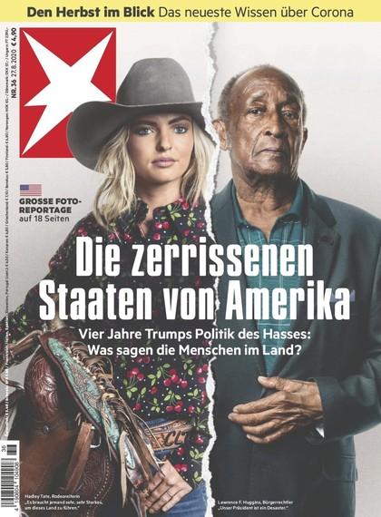 Cover Stern-Zeitschrift 36 2020
