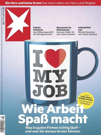 Cover Stern-Zeitschrift 4 2020