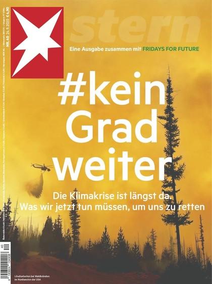Cover Stern-Zeitschrift 40 2020