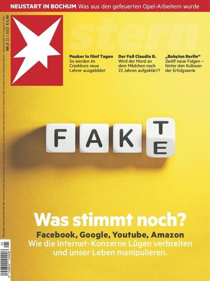 Cover Stern-Zeitschrift 5 2020