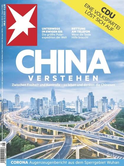 Cover Stern-Zeitschrift 8 2020